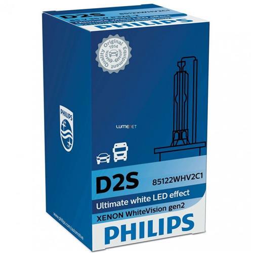 Philips D2S WhiteVision +120% 85122WHV2C1 xenónová výbojka 8727900377293