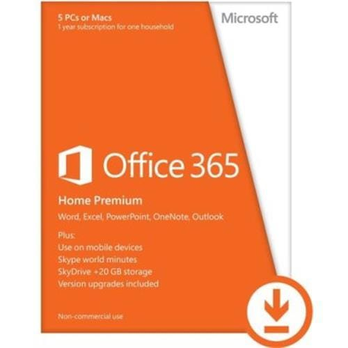 Office 365 Home Premium Slovak 1 Year Subscription Medialess