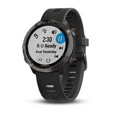 Garmin Forerunner 645 Music, Slate, Black band