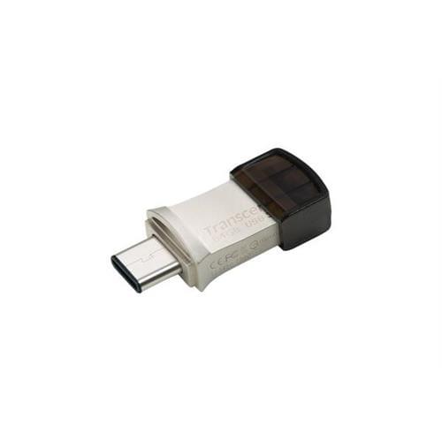 USB kľúč 32GB Transcend JetFlash 890S OTG, USB Type-C / USB 3.0 (R/W: 90/30 MB/s) TS32GJF890S