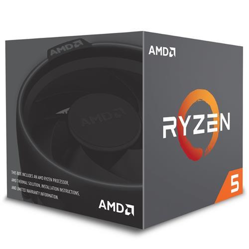 CPU AMD Ryzen 5 2600, Processor BOX, soc. AM4, 65W, s Wraith Stealth chladičom YD2600BBAFBOX