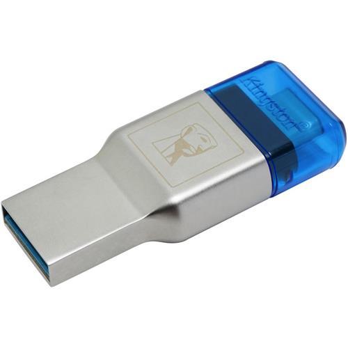 Kingston čítačka microSD/SDHC/SDXC kariet MobileLite DUO 3C (typ USB A a USB-C, USB 3.0/3.1) FCR-ML3C