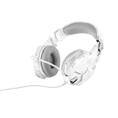 Headset TRUST GXT 322W Gaming Headset - white camouflage