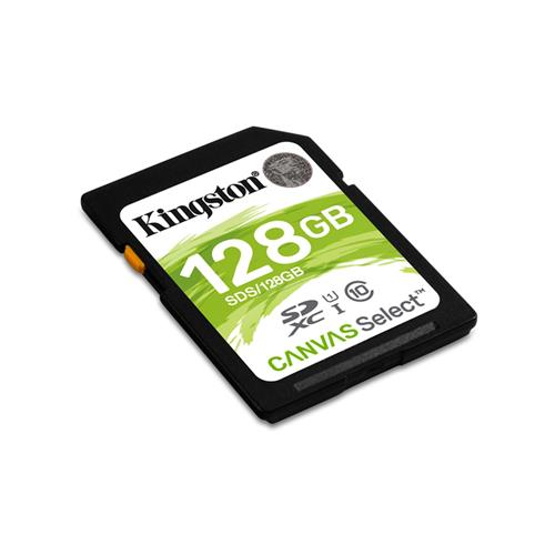 Kingston 128GB SDXC Class 10 UHS-I ( r80MB/s, w10MB/s ) SDS/128GB