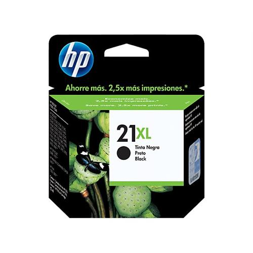 HP Black Cartridge DJ3920/3894 OJ PSC1410 No. 21XL /cca 450str- Blister