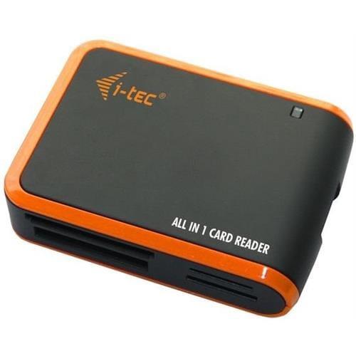 i-tec USB 2.0 univerzálna čítačka (čierno/oranžová) USBALL3-B
