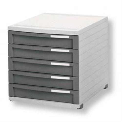 Zásuvkový box Contur 5 zatvorený 50mm HA150519