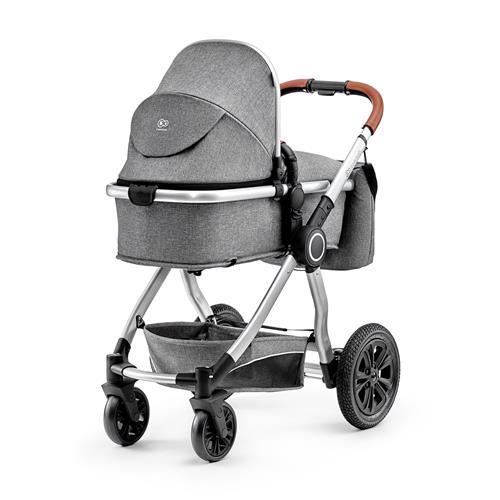 Kočík kombinovaný Veo grey 3v1 Kinderkraft 2019 KKWVEOGRY30000