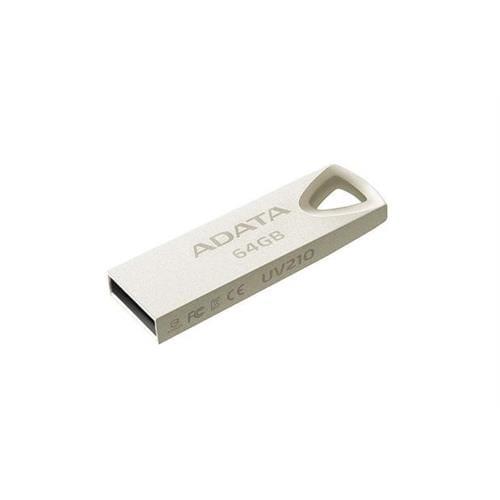 USB Kľúč 64GB ADATA DashDrive UV210, kovový (USB 2.0) AUV210-64G-RGD