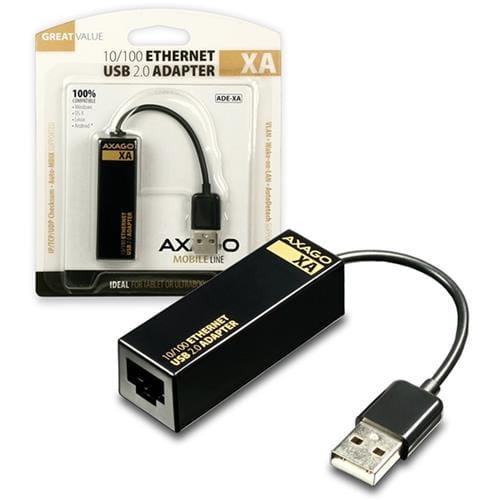 AXAGO USB2.0 - Fast Ethernet 10/100 UNI adapter ADE-XA