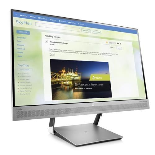 Monitor HP S240uj 23.8'' 2560x1440/300/1000:1/HDMI/MHL/DP/5ms T7B66AA#ABB