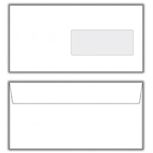 Poštové obálky DL s páskou, okienko OB540000