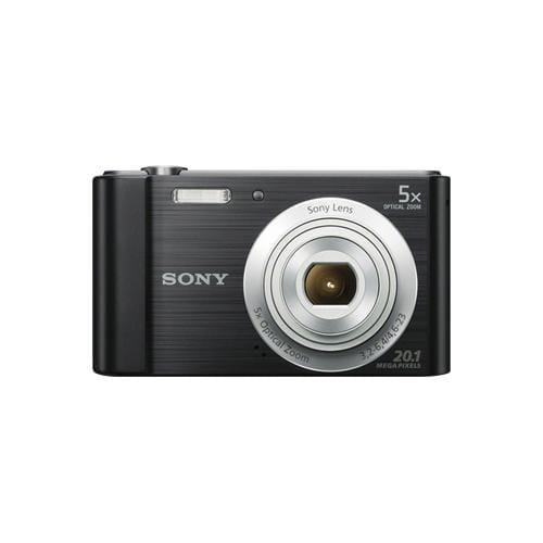 """Fotoaparát SONY DSC-W800B, 20,1Mpx, f/3.2-6.4, 5x zoom, 2.7""""LCD, čierny DSCW800B.CE3"""