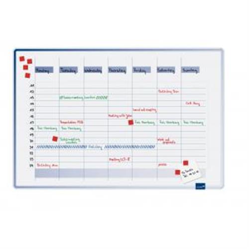 Plánovacia tabuľa týždenná ACCENTS 60x90 cm LM490000