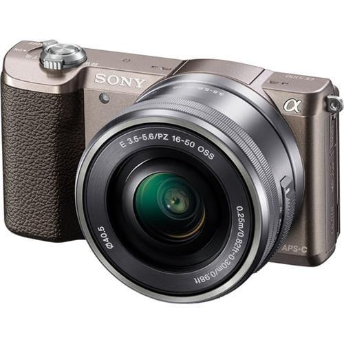 Sony A5100L, 16-50mm, 24,3Mpix, hnedá ILCE5100LT.CEC