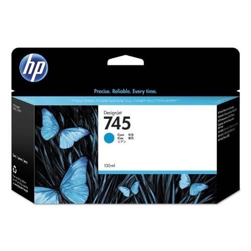 HP 745 130-ml Cyan Ink Cartridge F9J97A
