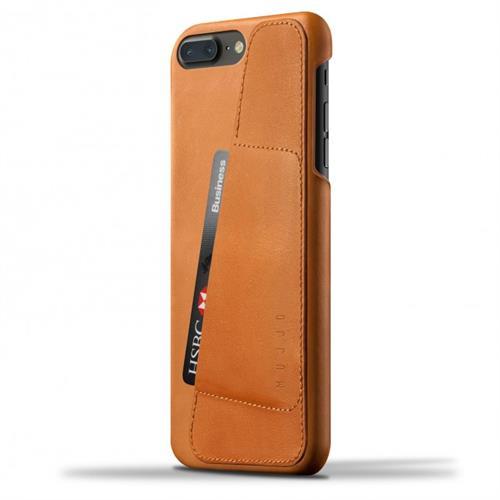 MUJJO Leather Wallet Case pre iPhone 8 Plus / 7 Plus - žltohnedý MUJJO-CS-071-TN