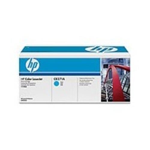 Toner HP CE271A Azúrový pre Color LaserJet CP5525
