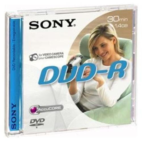 Média DVD-R DMR-30 Sony pro DVD kamery, 8cm DMR30A