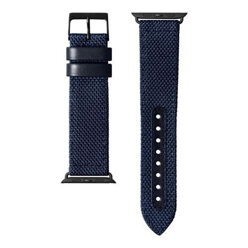 LAUT Technical 2.0 – nylónový remienok na Apple Watch 42/44 mm, tmavomodrý LAUT-AWL-T2-BL