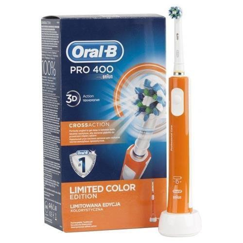 ORAL-B Elektrická kefka PRO 400 ORANGE 4210201135579