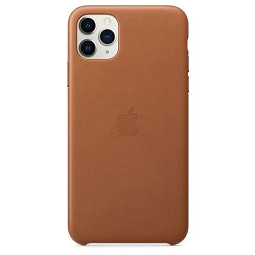 Apple iPhone 11 Pro Max Leather Case - Saddle Brown MX0D2ZM/A