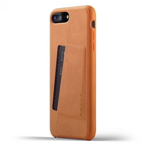 MUJJO Full Leather Wallet Case pre iPhone 8 Plus / 7 Plus - žltohnedý MUJJO-CS-091-TN