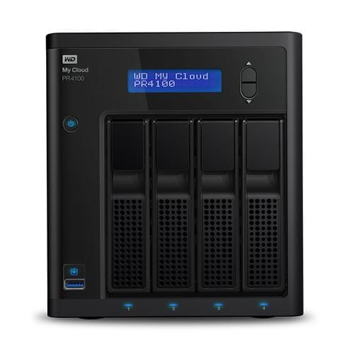 NAS 3,5'' WD My Cloud Pro PR4100 0TB NAS LAN WDBNFA0000NBK-EESN