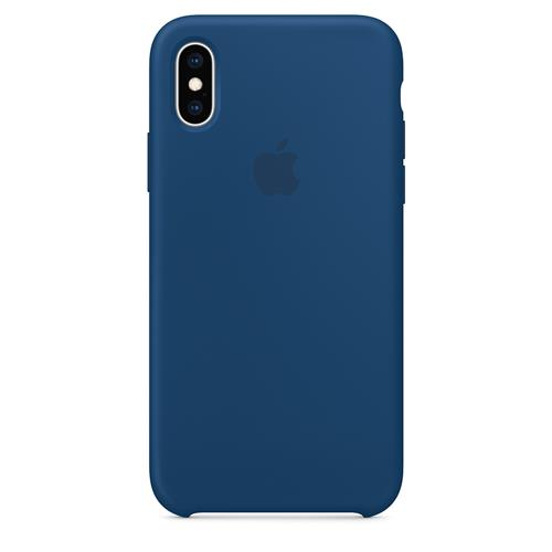 iPhone XS Max Silicone Case - Blue Horizon MTFE2ZM/A