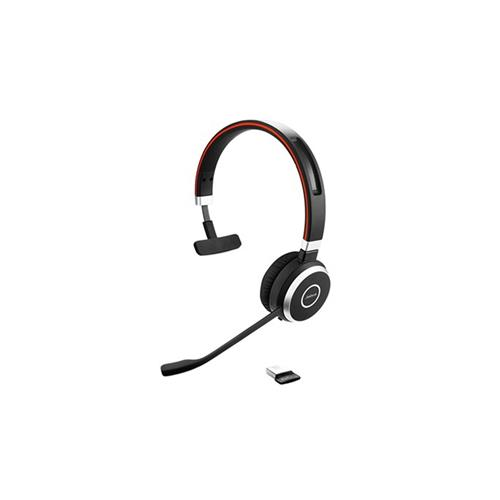 Headset Jabra Evolve 65, mono, USB-BT, MS, stojan 6593-823-399