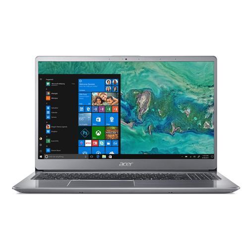 Acer Swift 3 - 15,6''/i5-8250U/4G/1TB+16OPT/W10 strieborný NX.H1MEC.005