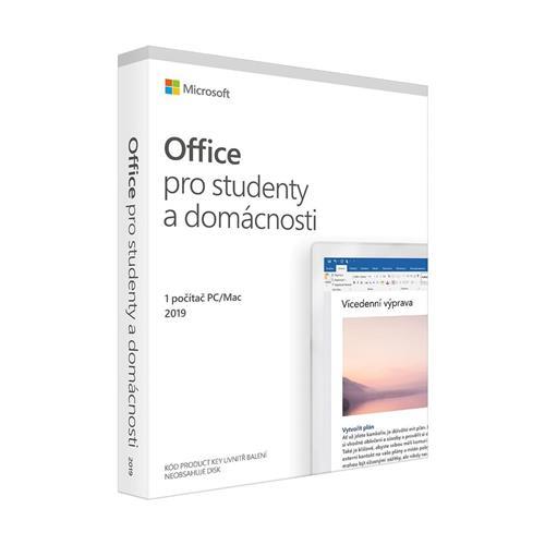 Office 2019 pre študentov a domácnosti Mac/Win CZ 79G-05146