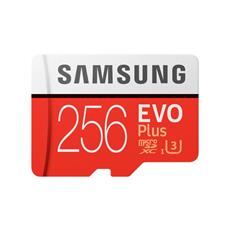 Samsung 256GB microSDXC EVO Plus + SD adaptér