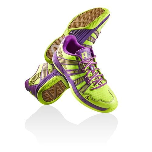 SALMING Race R5 3.0 Safety Yellow/Purple 5 UK, 38 EUR
