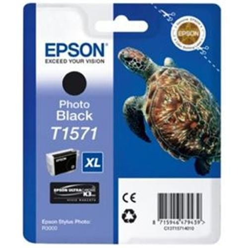 Kazeta EPSON T1571 Photo Black Cartridge R3000