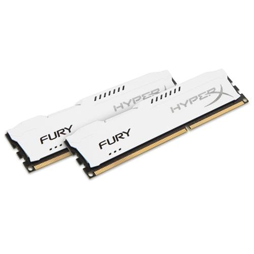 Kingston 16GB DDR3-1600MHz HyperX FURY White, 2x8GB