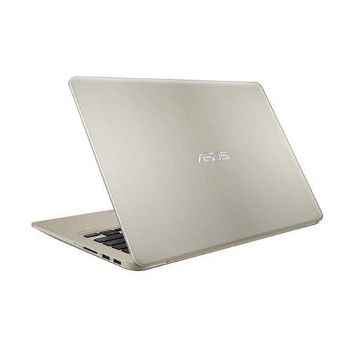 "ASUS VivoBook S410UA-EB325T Intel i5-8250U 14.0"" FHD matny UMA 8GB 256GB SSD WL Cam FPR Win10 CS zlatý"