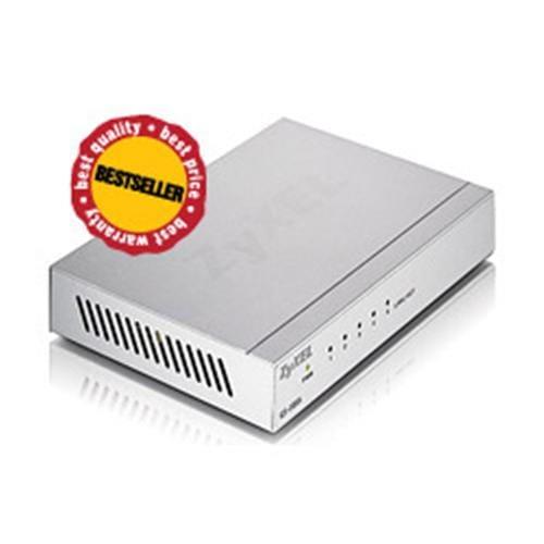 Switch Zyxel GS-105B, 5-port 10/100/1000Mbps Gigabit Ethernet switch, desktop 91-010-186001B