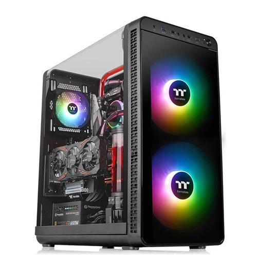 Thermaltake View 37 Gaming Case Black RGB vent. Bez Zdroja CA-1J7-00M1WN-04