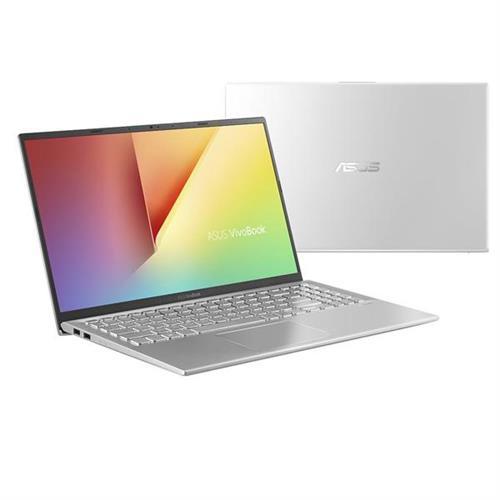"""ASUS VivoBook X512UA-EJ258T Intel i3-7020U 15.6"""" FHD matný UMA 4GB 256GB SSD WL Cam Win10 CS strieborný"""