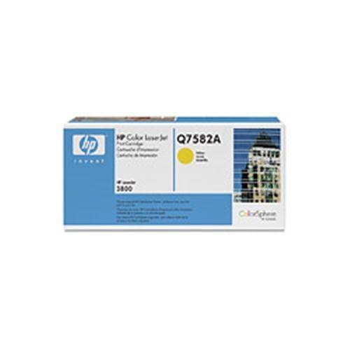 Toner HP Q7582A CLJ3800 Yellow, 6,0 00 strán