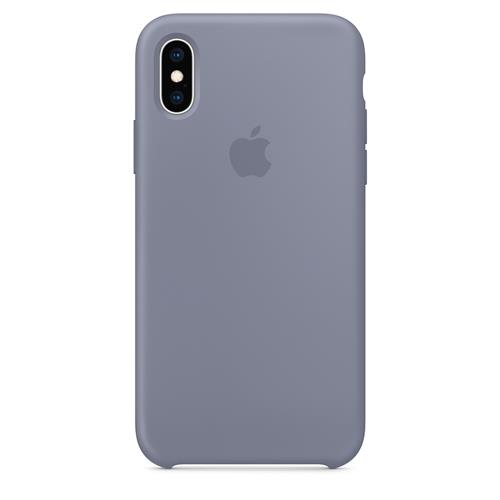 iPhone XS Max Silicone Case - Lavender Gray MTFH2ZM/A