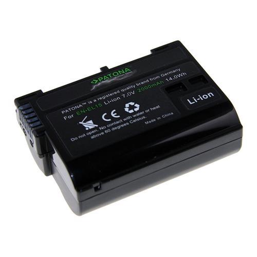 PATONA batéria pre foto Nikon EN-EL15 2000mAh Li-Ion Premium PT1224