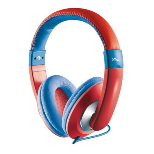 Headset TRUST Sonin Kids Headphone, red