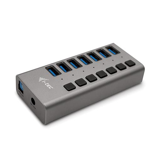i-tec USB 3.0 Charging HUB 7port + Power Adapter 36W U3CHARGEHUB7