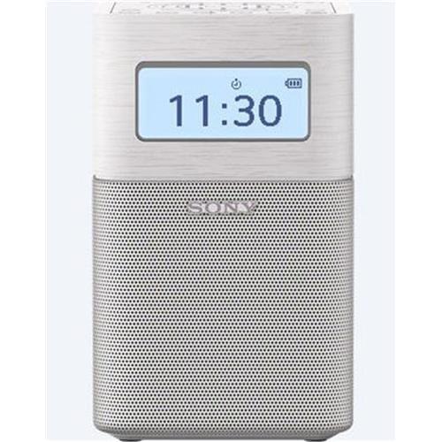 Rádioprijímač Sony SRF-V1BT, prenosný, BT/NFC, vstav. batéria, biely SRFV1BTW.EU8