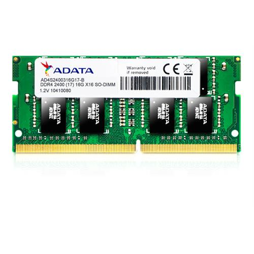 SO-DIMM 16GB DDR4-2400MHz ADATA 1024x8 CL17