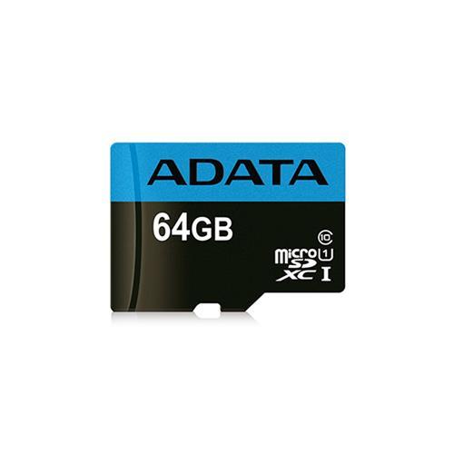 ADATA 64GB microSDXC UHS-I CLASS10 85/25MB/s AUSDX64GUICL10 85-R