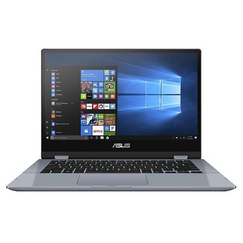"""ASUS Vivobook Flip 14 TP412FA-EC476T i3-10110U, 8GB, 256GB SSD, integr. 14"""" FHD Touch, Win Home S, Silver"""