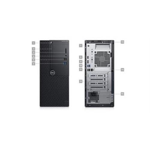 Dell PC Optiplex 3060 MT i3-8100/8GB/1TB/HDMI/DP/DVD/W10P/3RNBD 3060-3208